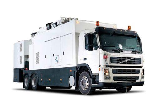 Mobil scanner för fordon och containrar