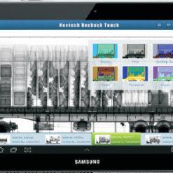 Touchpad för mobil röntgen