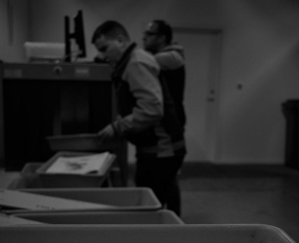 Röntgenkontroll av brev på CIP Checkport